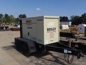 Generators at Bosley Rental & Supply,Inc.
