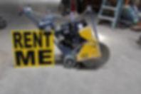 Concrete saws at Bosley Rental & Supply,Inc.