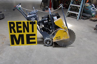 Concrete saws at Bosley Rental & Supply,Inc.