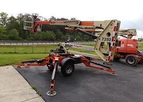 JLG Towable manlift at Bosley Rental & Supply,Inc.