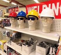 Hard Hats at Bosley Rental & Supply,Inc.