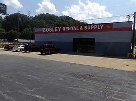 Bosley Rental & Supply, Inc. Cross Lanes Store location