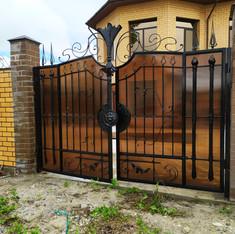 Кованые ворота, заборы