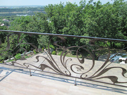 Балкон кованые. Балконное ограждение. Деко Декоративная ковка