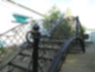 Кованый мостик. Декоративная ковка