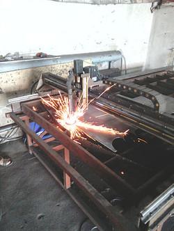 Плазменная резка металла. Раскрой листового металла