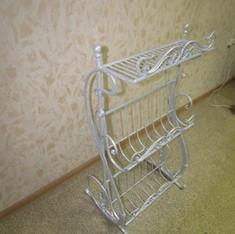 Газетница. Кованая мебель. Деко Декоративная ковка