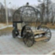 Кованая карета. ДеКо Декоративная ковка