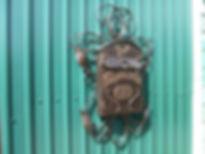 Кованый почтовый ящик. ДеКо Декоративная ковка