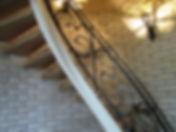 Винтовая лестница. Декоративная ковка