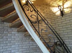 Кованая лестница. Винтовая лестница