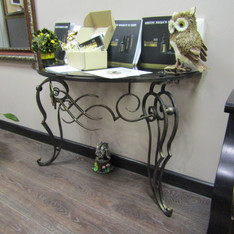 Столик для салона. Кованая мебель. Деко Декоративная ковка
