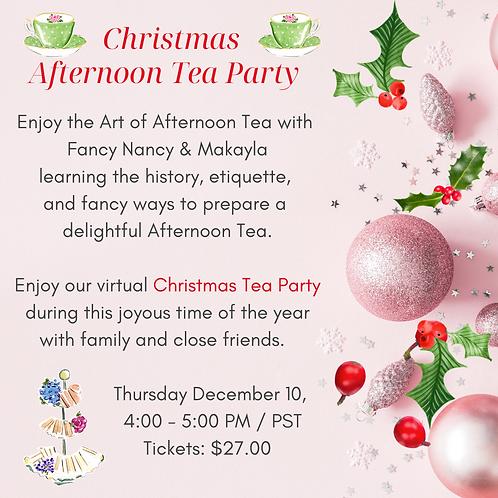 Christmas Etiquette Tea Party