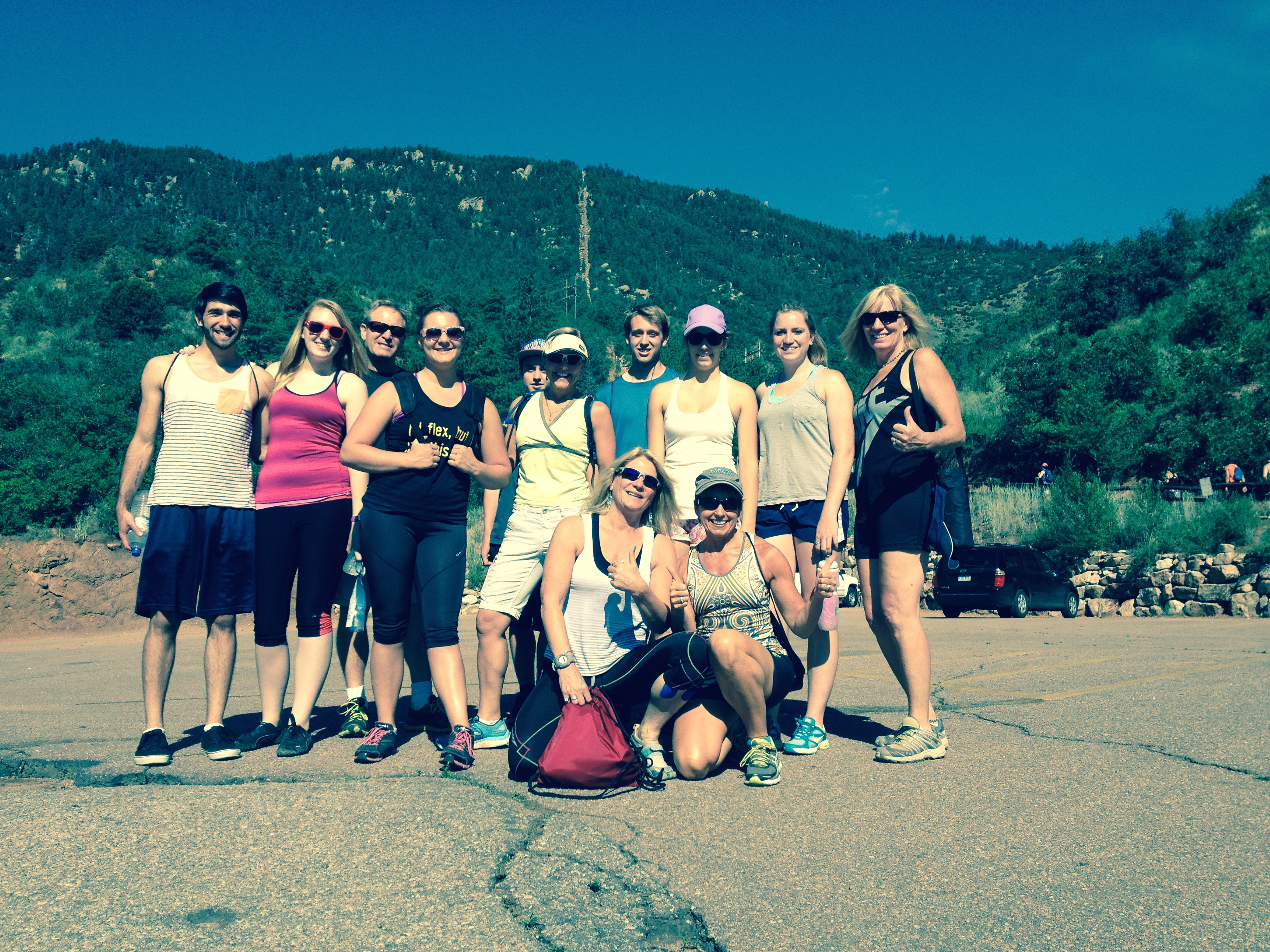Manitou Incline July 2014