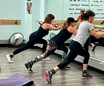Barre, Pilates, Group Fitness