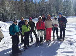 SNOWSHOEING IN MARCH