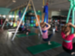 Aerial Yoga Barre Classes