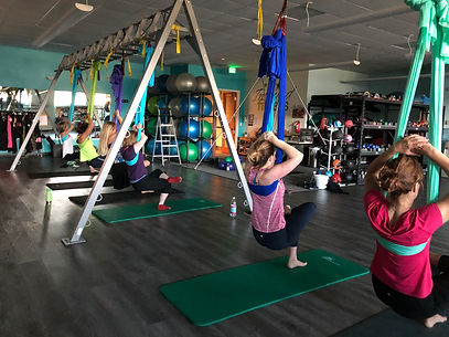 Aerial Yoga Barre Classes