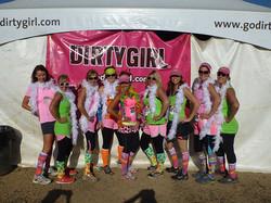 Dirty Girl Mud Run BEFORE the race