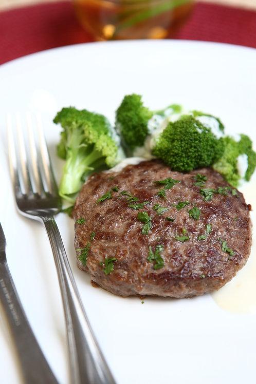 Sauté de Brócolis com Hamburger ao Molho de Queijos Versatile