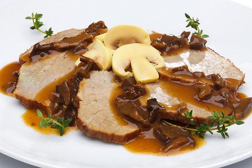 Carne de Panela ao Molho Funghi - Versatile