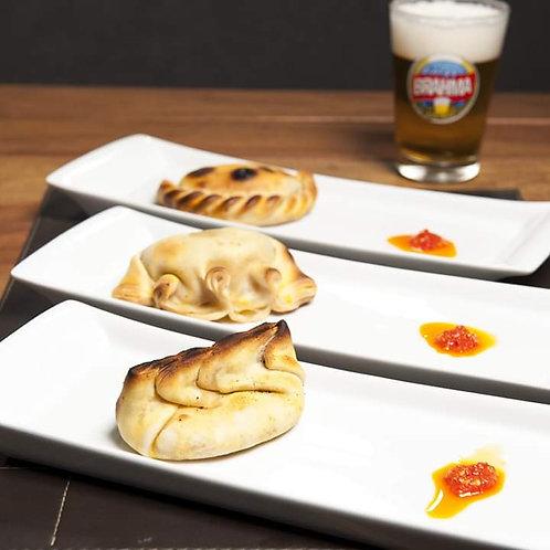Empanada Queijo com Cebola