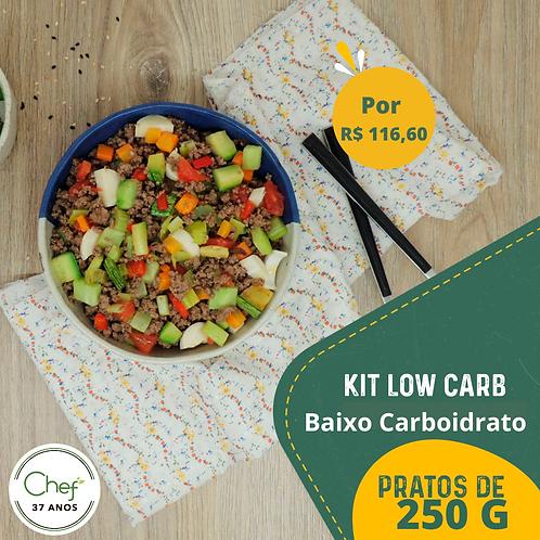 Kit Low Carb Menor Teor de Carboidrato com poucas calorias