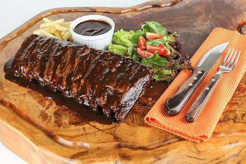 Costelinha Suina com Molho de Barbecue (5 ossos)