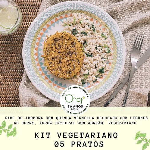 Kit Vegetariano - 5 pratos