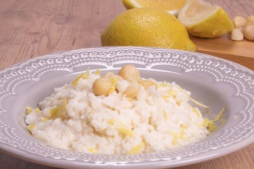 Risoto de Limão Siciliano Tartufo