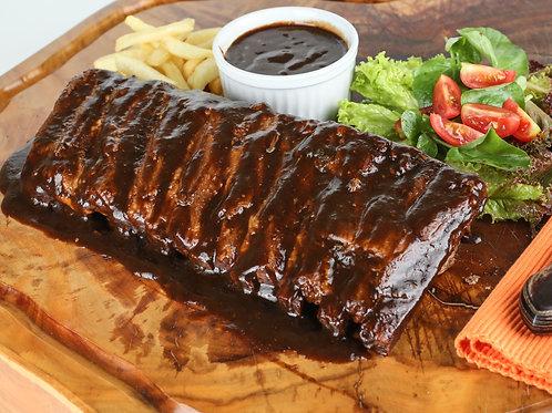 Costelinha Suina com Molho de Barbecue (7 ossos)
