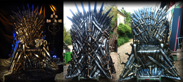 réalisation du trone- Game of Thrones -waner bros
