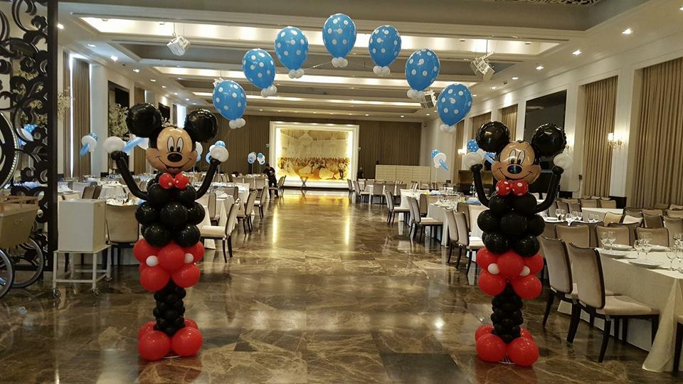 Balloon Mickey Mouse Decor