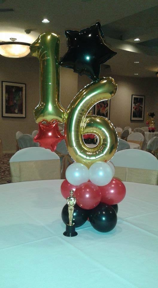 6th Birthday Balloon Decor