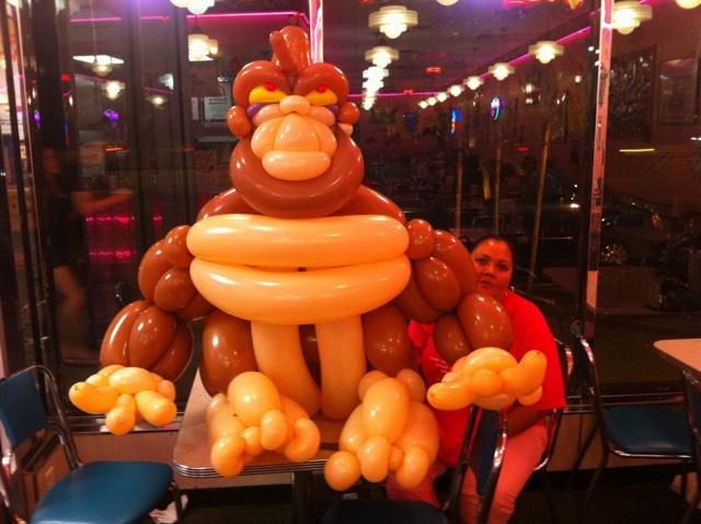 Balloon Gorilla