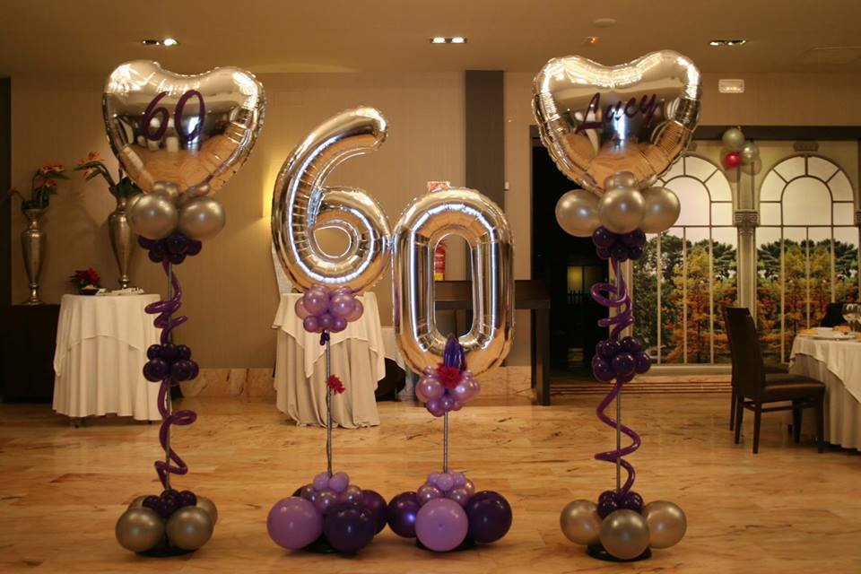 60th Birthday Decor