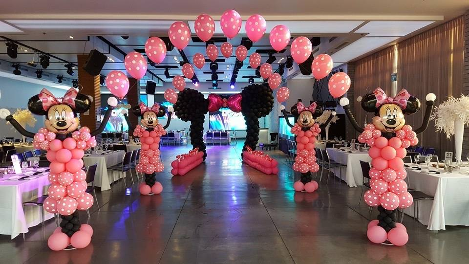 Balloon Minnie Mouse Decor
