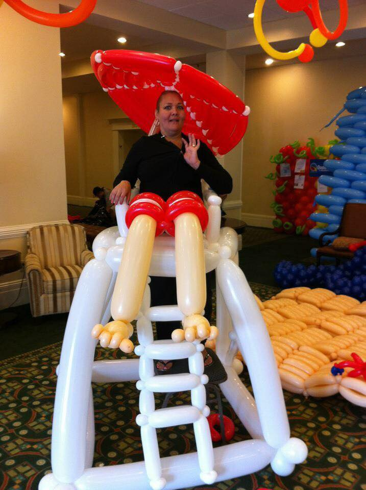 Balloon Lifeguard Chair