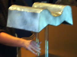 Scale prototype of water walkway