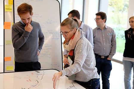 Rethink GmbH – die Mobiliar – Sketchmen Run – Agile Methoden Schweiz