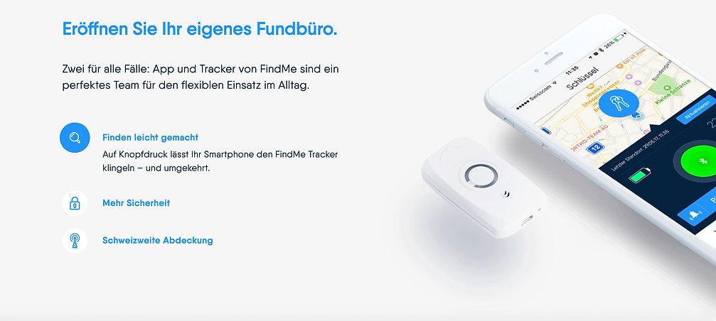 Rethink GmbH – FindMe – Innovationsberatung Schweiz