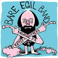 PLATECOVER til den kommende volum 4 av Bare Egil Bands Norge på Kryss og Tvers.