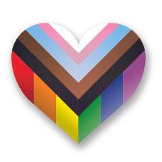 Sticker | Contour progessie hart