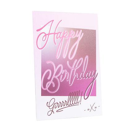 Verjaardag | Happy Birthday - Lesbi