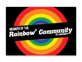 Sticker   Rainbow+ Community