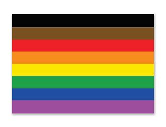 Sticker   Regenboog+