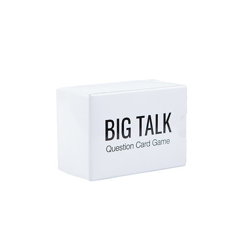 Big Talk Question Card Game