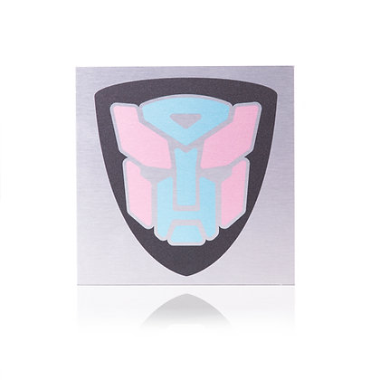 Bordje | Transformer 15x15cm