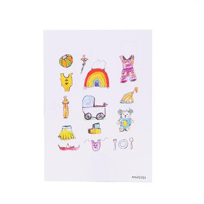 Postcard | Geboorte