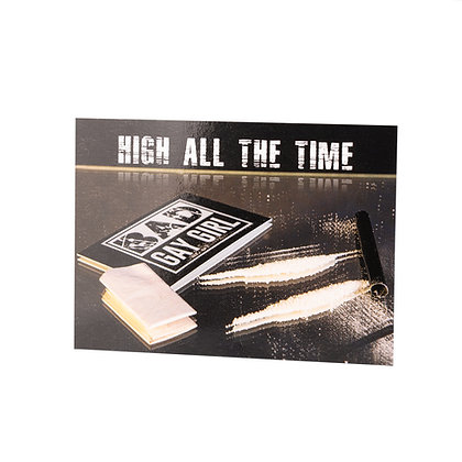 Postcard | High all the time